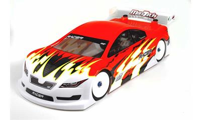 Racer200 Gas Powered Car Clear Body 200mm