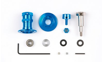 F104 Aluminium Diff. Housing Set