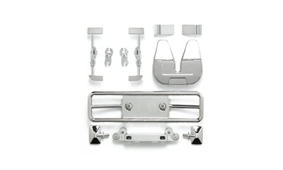 Racing Truck H-Parts (Chrome)