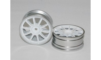 MN 10-Spoke Wheels (white & chrome rims/0)