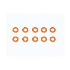 Alu Shims 3X6X0.5 Orange (10)