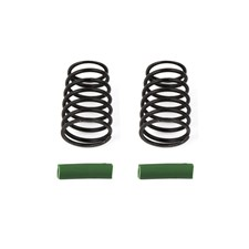 RC10F6 Side Springs, green, 4.2 lb/in