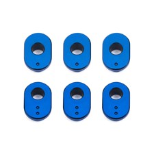 RC10F6 Camber Bushings, aluminum