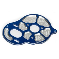 FT Front Motor Plate, blue, 3 gear