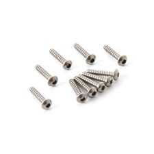 Schrauben 2 x 10mm Hex. Button Head Titanium Tapping Screw 10pcs