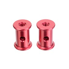 Alum. Rear Brace Mount - 2 pcs