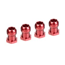 Alum. Steering Ball 4.25mm - M3 - 4 pcs