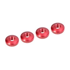 Alum. Body Mount Cambered Nuts - 4 pcs