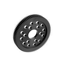 Delrin CNC-Cut Spur Gear 90T - 64DP - 1 pc