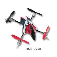 Canopy Set w/4 Rotor Blades Red