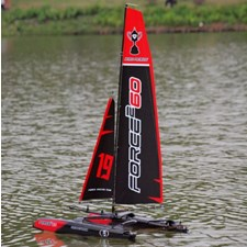 Force2 60 catamaran Segelboot 2.4G RTR