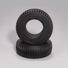 Scale Rubber Tire 3.35 with Foams 1/10 Truck