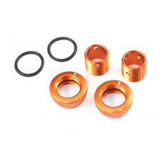 Aluminum 6mm Body Height Fine Adjuster Set - Orange