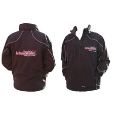 Jacket - 3 Layer Softshell; Black - S - 38inch