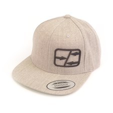 Schumacher Snapback Flatbill Cap-Heather