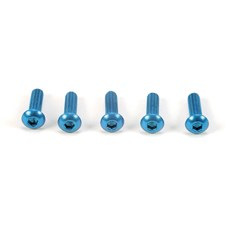 3x10mm Socket Screw blue