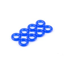SILICONE O-RING P-4 (4x2mm 8 Stück)