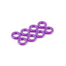 SILICONE O-RING P-4 4x2mm (8 Stück)