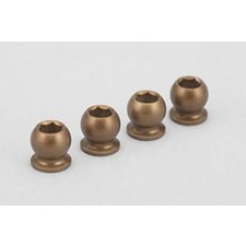 Lubrication hard coat Shock cap/Shock end ball for BD7 (4pcs)