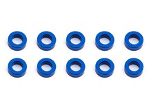 Ballstud Washers, 5.5x2.0 mm, blue aluminum