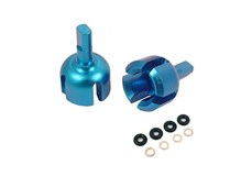Aluminum Front/Rear Gear Box Joint (BU) for Tamiya TT01/TT01E