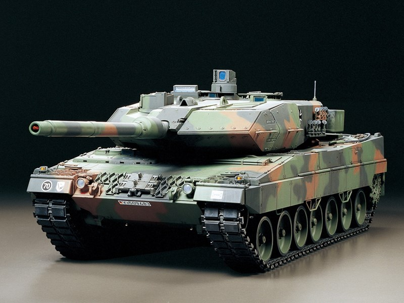 zubeh r f r tamiya rc fahrzeug leopard 2 a6 full options panzer 1 16 rc. Black Bedroom Furniture Sets. Home Design Ideas