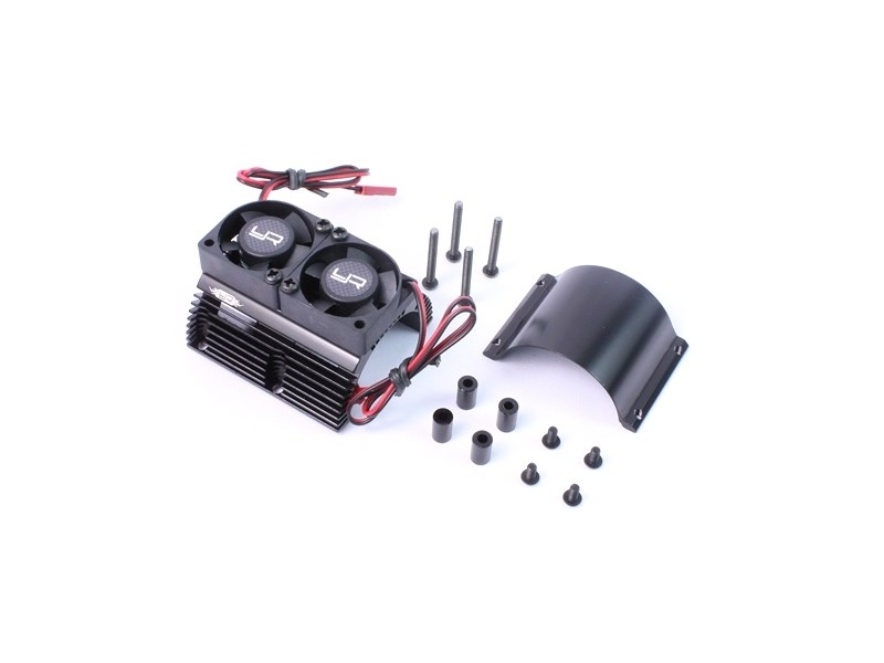 yeahracing rc motor elektro zubeh r motork hlk rper mit doppel l fter f r elektromotoren. Black Bedroom Furniture Sets. Home Design Ideas